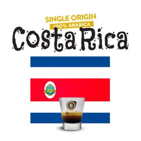 100% Arabica Single-Origin Costa Rica Coffee 101CAFFE' Singapore